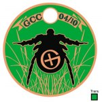 Tag # 12244 Added 08/10/2010 Geocoin Club April 2010 By: The Geocoin Club