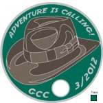 Tag # 21137 Added 06/24/2012 Geocoin Club March 2012 By: The Geocoin Club