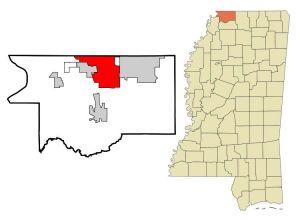 Southaven Map